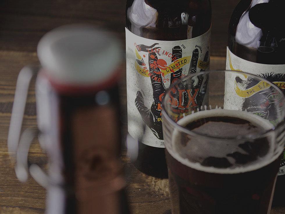 Last Incident Brewing Company beer, label, design, branding, ZBS BRANDS