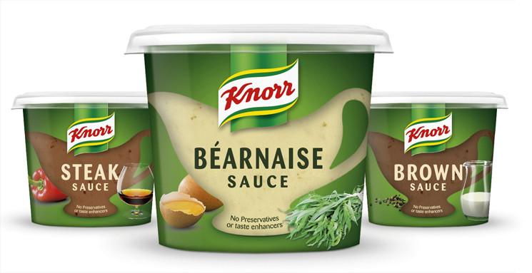 Соусы Knorr Nordic Range. Агентство: Agency R Design (Великобритания)