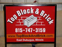 Top Block & Brick Yard signs (1)