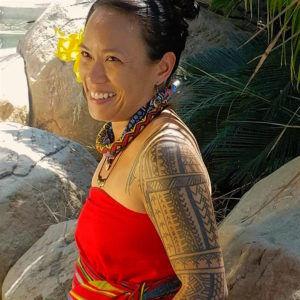Jazmine Atienza tattoo artist for Spiritual Journey Tattoo