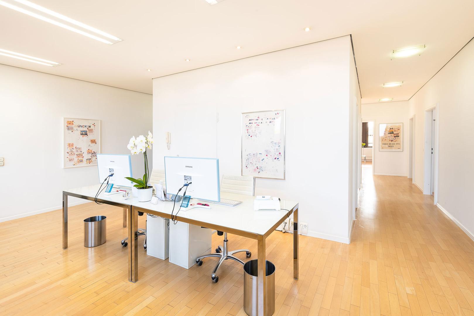 Hausarzt am Candidplatz, Praxis Dr. Treusch - Empfang