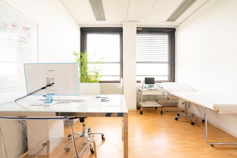 Hausarzt am Candidplatz, Praxis Dr. Treusch  - Arztzimmer