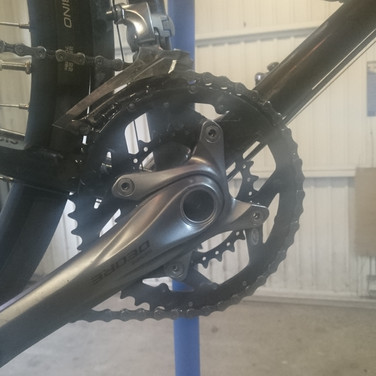 Lower gearing for touring