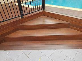 Deck Saver - Merbau steps after