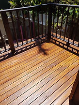 Deck Saver - Heritage pine deck after