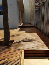 Deck Saver - spotted gum clear coat