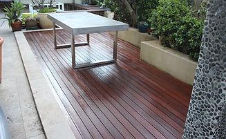 Deck Saver - Merbau deck after