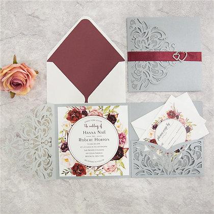 Classic Floral Trifold Set | RTG