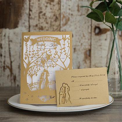 Forest Wedding | LaserCut