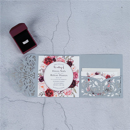 Classic Floral Trifold | PF