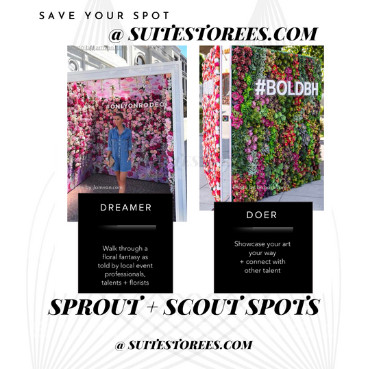 sprout and scout spots - experience live events