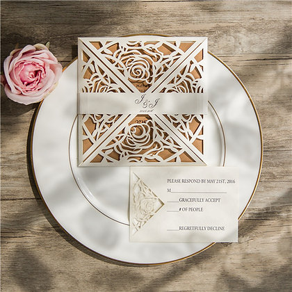 Diamonds + Roses | LaserCut