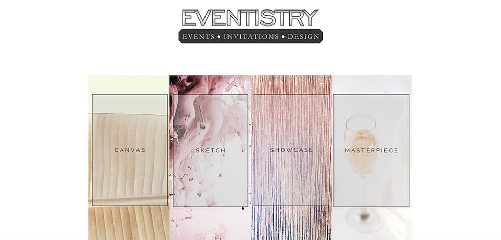 Eventistry | Website Design