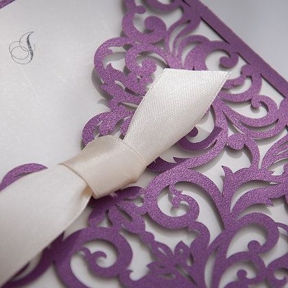 Timelessly Tasteful - Purple | LaserCut