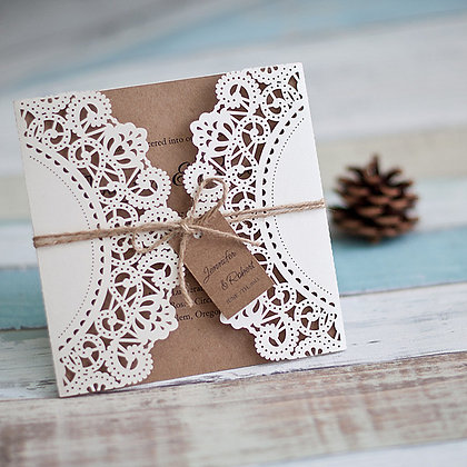 Tied to be Rustic | LaserCut