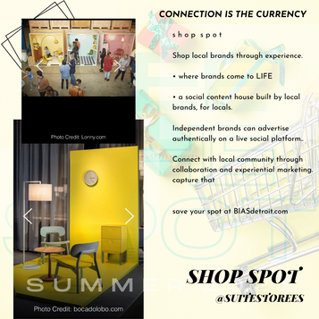 Shop Spot - Experiential Shopping Marketplace