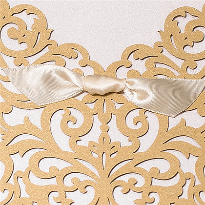 Timelessly Tasteful - Gold | LaserCut