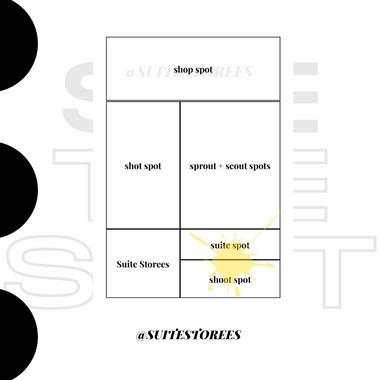 suite storees - shoot spot and suite spot