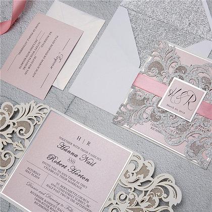Fabulous Lace Pocket - Glitter | G+M