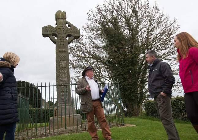 Celtic Healing Tour Arboe Cross