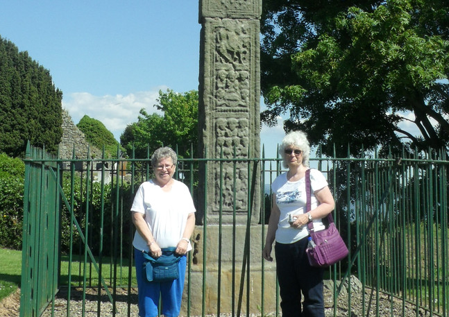 Celtic Healing Tour Ardboe Cross