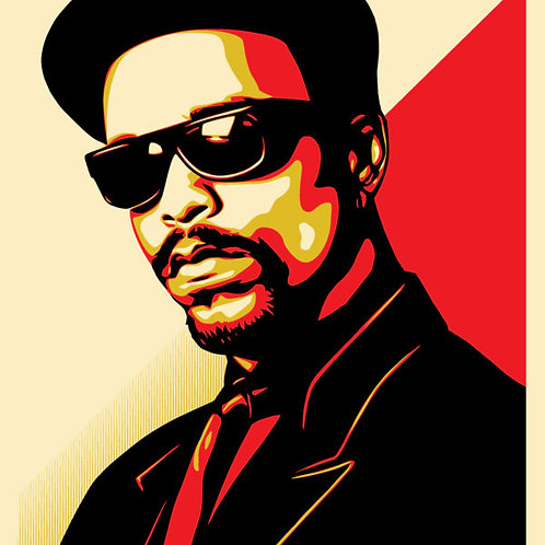 ICE-T OG Red  By Shepard Fairey