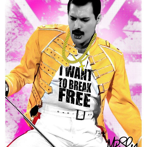 I want to break free By Mr.Sly