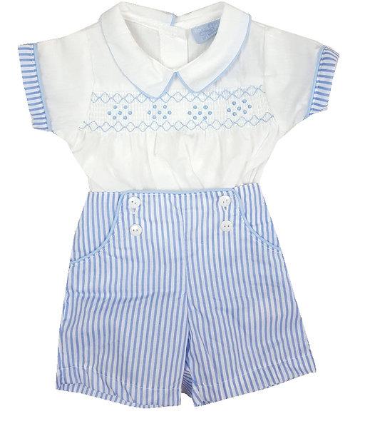 English Heritage Blue Stripe Set