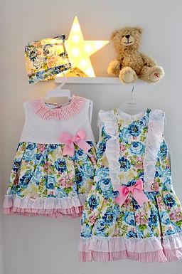 Blue & Pink Florals - BabyFerr
