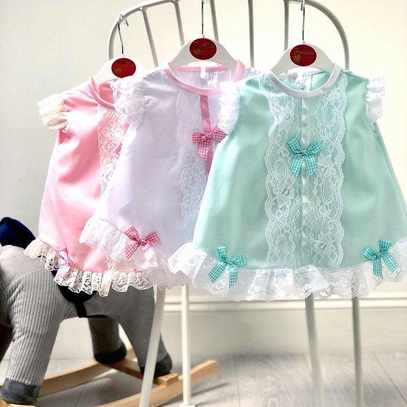 Frillies Dress & Bloomers Set