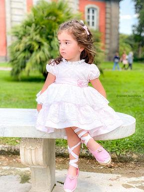 Lightest Pink Puffball Dress