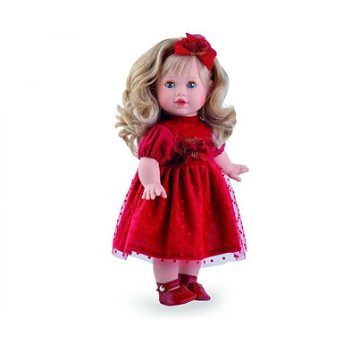 """""""Rosie"""" - Red Party Dress"""