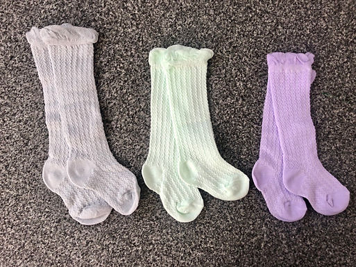 Pastel Edition Knee High Socks