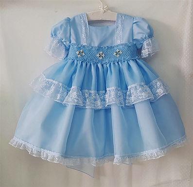 Layered Blue Dress