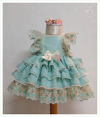Layered Puffball Dress