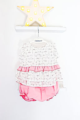 Frilly Romper Two Piece