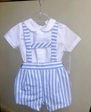 Baby Ferr Striped Traditional H Bar Set