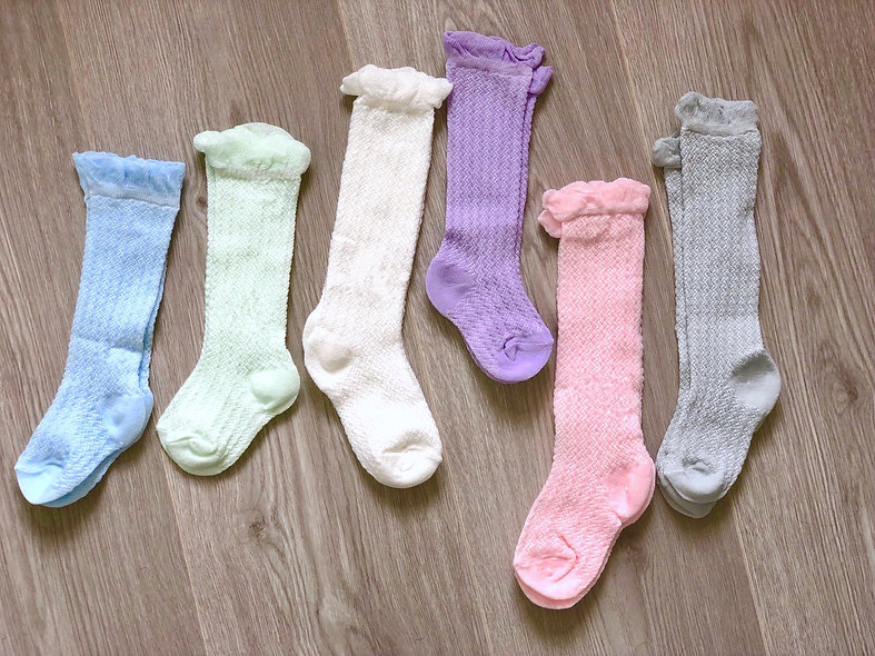 Condor Socks, Knee High (Pastel Editon)