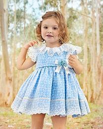 Baby Blue Florals