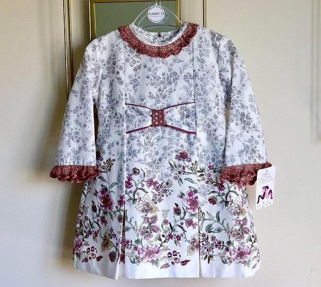 Demur Vines Print Dress