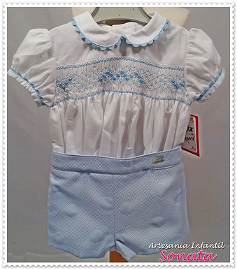 Smocked Traditional Royals Set