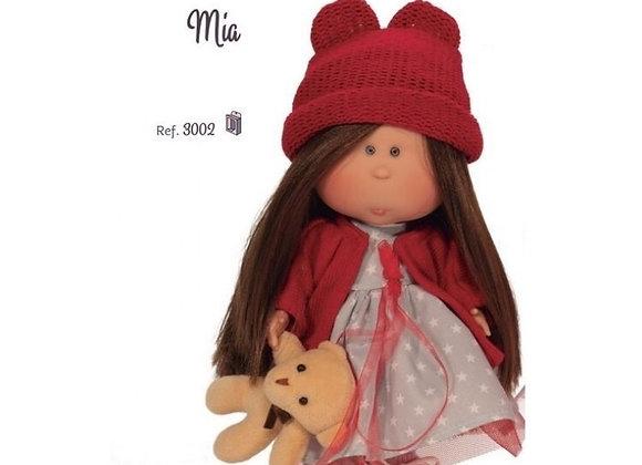 """Mia"" - Brunette Straight Hair"