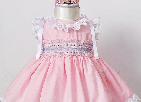 Plumetti Smocked Dress