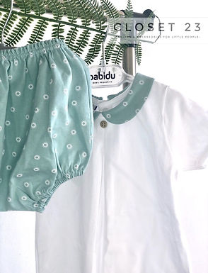 Babidu Mint Revolve Two Piece