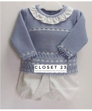 Ice Blue Boys 2 Piece with Short
