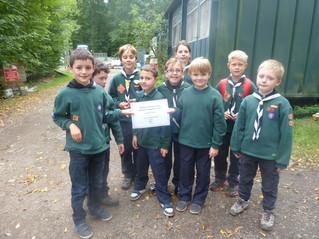 Archery success for Birchwood Cubs