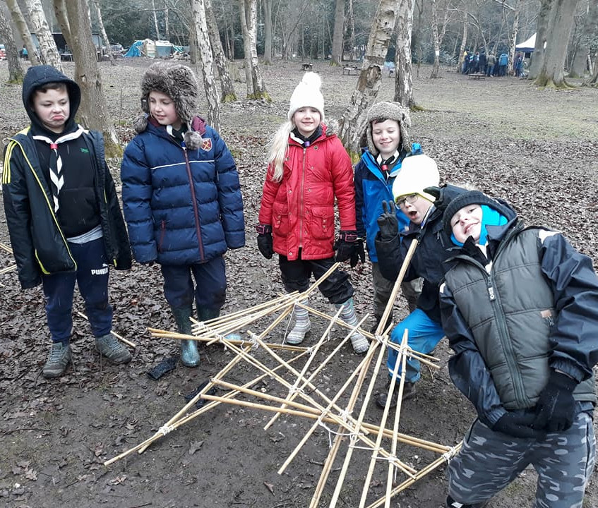 cubs bushcraft day 2018