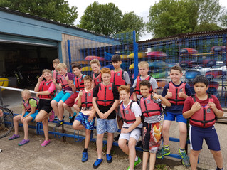 Colne Scouts Troop Summer Tri-Camp