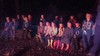 All was Well at the End of the Autumn Beavers Camp!