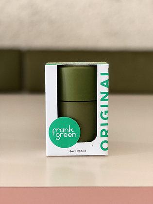 frank green original reusable cup ~ khaki